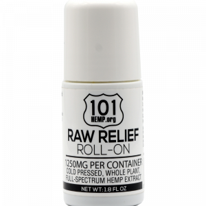 Raw Relief Roll On 1250mg
