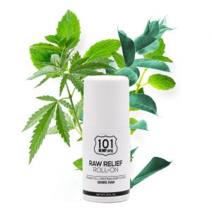 raw relief roll-on