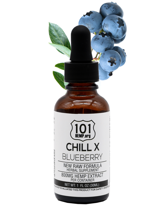 chill x blueberry